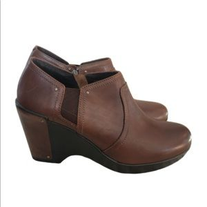 Dansko Florence Brown Ankle Boots Booties 41